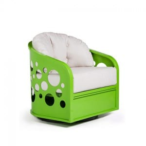 Bubbles Swivel Lounge Chair<br>EVB 2100