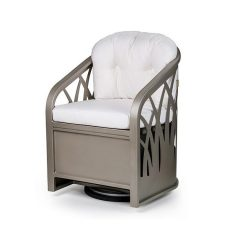 Sea Grass Swivel Dining Chair EVS 2035