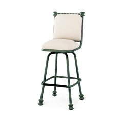 MERRICK Swivel Barstool with Back GR-2039-30F