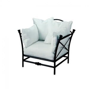 "Lounge Chair with ""Throw"" Back Cushions TR 2100MC"