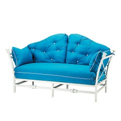 Loveseat with Reversible Tailored Back Cushions TR 2120L