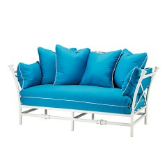 "Loveseat with ""Throw"" Back Cushions TR 2120MC"
