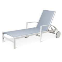 Chaise Lounge with Wheels<br>AV 8090W
