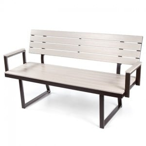 Soho Bench with back Rest And Arms EWS 1960BA