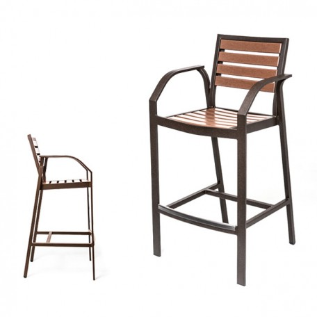 MONDELLO EWM 9045-30 Bar Chair with Arms
