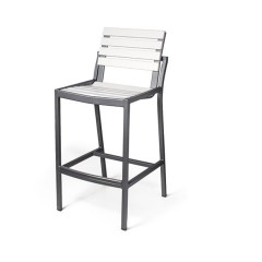 LUGANO EWL 9040-30 Armless Bar Chair
