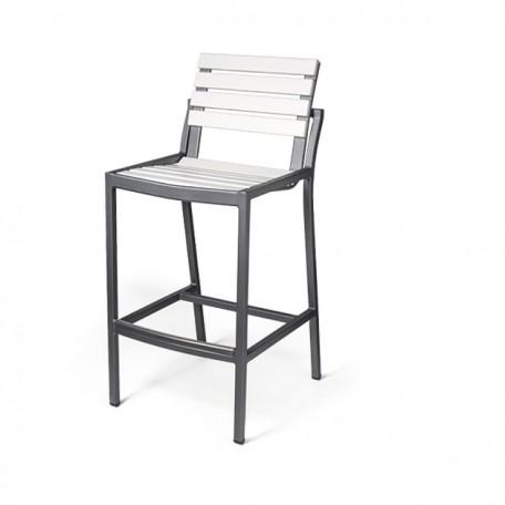 LUGANO EWL 9040-30 Armless Bar Chair