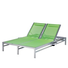 Double Chaise Lounge with Side Trays<br>BL 7190-46 R/L