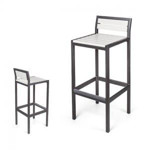 Metro Counter Stool / Bar Stool With Back<br>EWE 2040-24 / 30