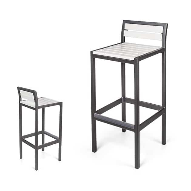 Metro Counter Stool / Bar Stool With BackEWE 2040-24 / 30