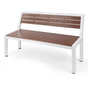 Metro  Bench with Back Rest EWE 1960B