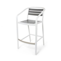 Capri Counter Stool/Bar Chair  with Arms<br>EWC 9045-24 / 30