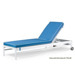 Stacking Chaise Lounge <br>BL 7190W