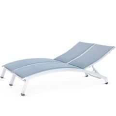 Double  Chaise Lounge (arched seat)<br>NV 8190-46A