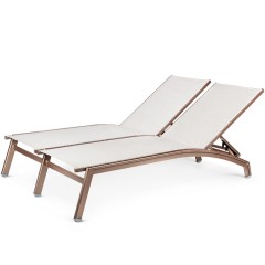 Double Chaise Lounge (straight seat)<br>NV 7190-46S
