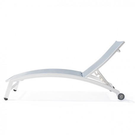 PINECREST Stacking Chaise Lounge with Wheels NV-7190WA