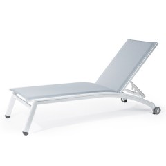PINECREST Stacking Chaise with Wheels NV 8190WS