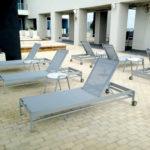 BLEAU Chaise Lounge BL 7190W