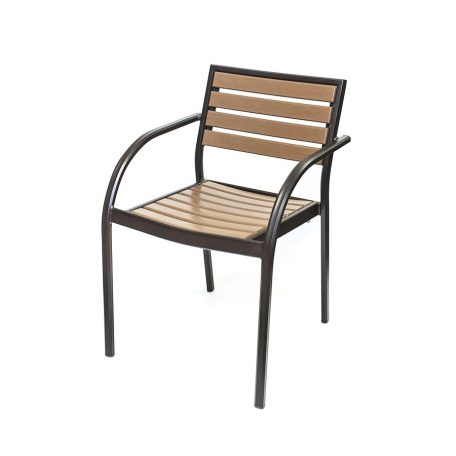 CASSIS EWA 9130 Stacking Dining Arm Chair