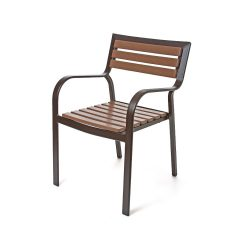 Ibiza Stacking Dining Arm Chair<br>EWI 9130