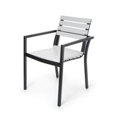 Lugano Stacking Dining Arm Chair<br>EWL 9130