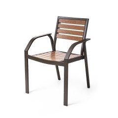 MONDELLO EWM 9130 Stacking Dining Arm Chair