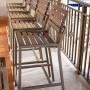 Lugano Armless Bar Chair