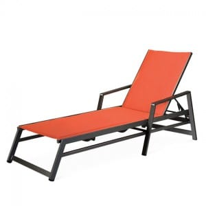 Chaise Lounge with Arms For Sand or Deck <br>TZ 8390