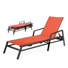 Stacking Chaise Lounge  TZ 8290