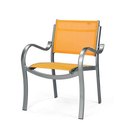EDGEWATER Stacking Dining Arm Chair MU 7130