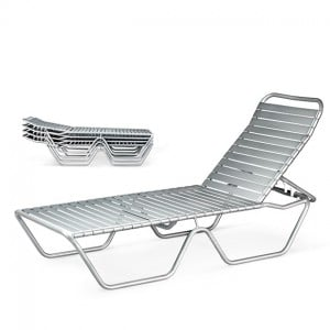 Stacking Chaise Lounge  DW 565