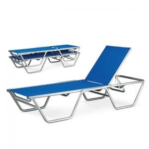 Stacking Chaise Lounge  SR 7090