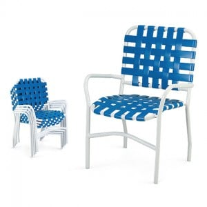 Stacking Dining Arm Chair CT 6025