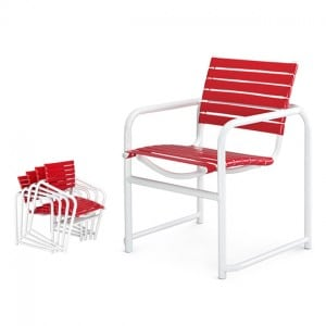 Stacking Arm Chair  SR 6032