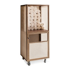 CTS 282466W Towel Cabinet with Wheels