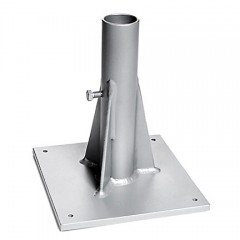 Umbrella Base Aluminum Deck Plate 6100