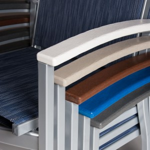 Ecowood is available in five standard slat colors.