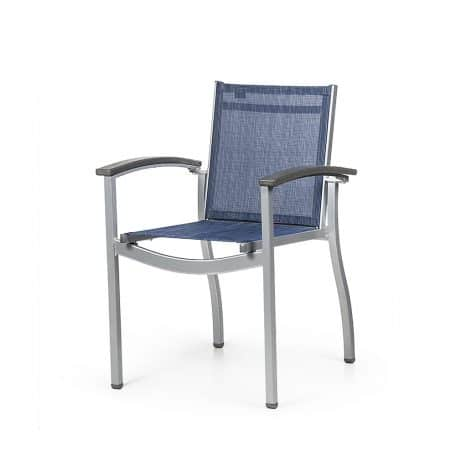 MIDTOWN Stacking Dining Arm Chair MI 7130