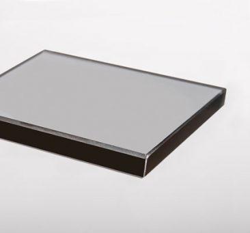Smoked Grey Glass