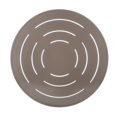 Round Aluminum Top-Slotted Pattern