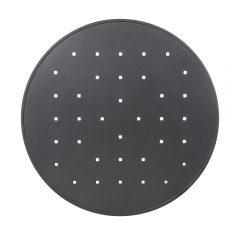 Round Aluminum Top-Squares Pattern