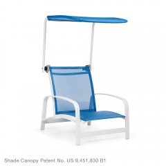 Adjustable Shade Canopy<br>with Sand Chair