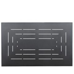 Rectangular Aluminum Top Slotted Pattern