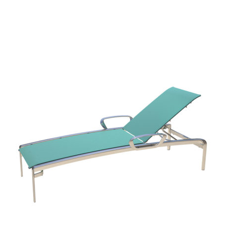 CARLYLE Stacking Chaise Lounge with Arms CY 7191