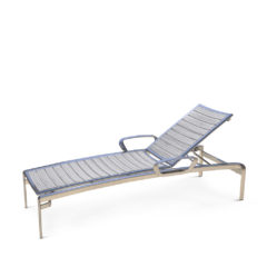 CARLYLE Stacking Chaise Lounge with Arms CYE 9191